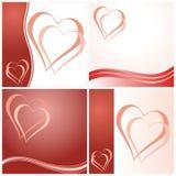 Valentine's day cards Stock Photo