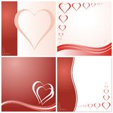 Valentine's day cards Stock Photo