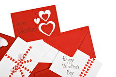 Valentine's Day Cards Royalty Free Stock Photography