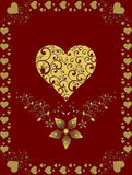Valentine's Day Cards Stock Photos