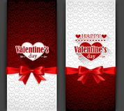 Valentine's Day Cards Stock Images