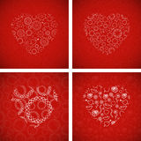 Valentine's Day Cards Royalty Free Stock Images