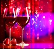 Valentine's Day Celebrating Royalty Free Stock Image