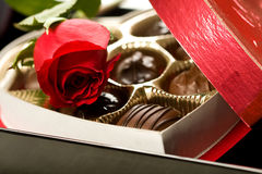 Valentine's Day Celebration Stock Images
