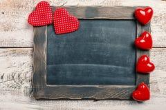 Valentine`s Day Chalkboard Royalty Free Stock Photo