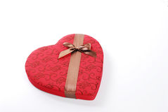 Valentine's day choclste and letters Royalty Free Stock Photo
