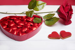 Valentine S Day Chocolate Gift Set Stock Images