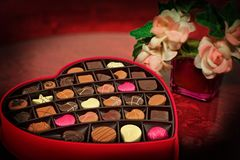 Valentine'S Day, Chocolates, Candy Stock Photography