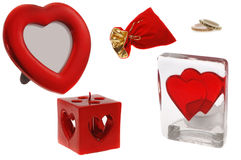 Valentine's day clipart stock images