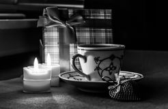 Valentine's Day cofee Stock Photography