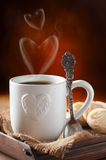 Valentine's Day Coffee Stock Image