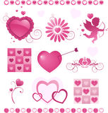 Valentine S Day Collection Royalty Free Stock Photography