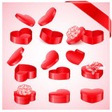 Valentine`s day collection Royalty Free Stock Photography