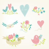 Valentine`s Day collection. Stock Images