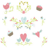 Valentine`s Day collection 2 vector illustration