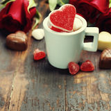 Valentine's day composition Stock Photography