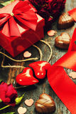 Valentine's day composition Royalty Free Stock Photography