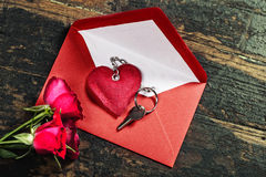 Valentine's day composition Stock Image