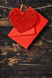 Valentine's day composition Royalty Free Stock Photo