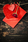 Valentine's day composition Stock Images