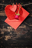 Valentine's day composition Royalty Free Stock Images