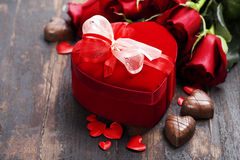 Valentine's day composition Royalty Free Stock Photos