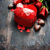 Valentine's day composition Stock Photo