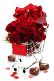 Valentine's day composition Royalty Free Stock Image