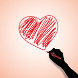 Valentines Day Concept Royalty Free Stock Photography