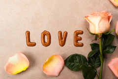 Valentine's day concept background Royalty Free Stock Image