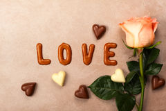 Valentine's day concept background Royalty Free Stock Photo