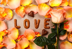 Valentine's day concept background Stock Photos