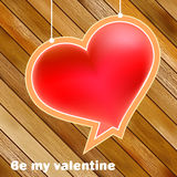 Valentine's day concept with copyspace. + EPS8 Royalty Free Stock Images