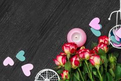 Valentine`s Day concept royalty free stock photography