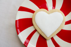 Valentine's Day Cookie Royalty Free Stock Photos