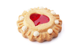 Valentine's Day cookies Royalty Free Stock Photo
