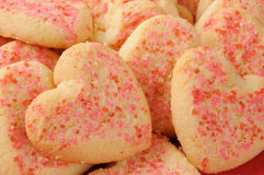 Valentine's Day Cookies Royalty Free Stock Image