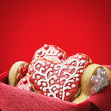 Valentine S Day Cookies Stock Image