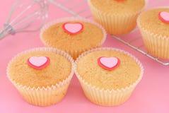 Valentine's Day Cupcake Royalty Free Stock Photo