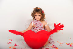 Valentine's Day Cupid Royalty Free Stock Photos