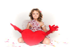 Valentine's Day Cupid Royalty Free Stock Images