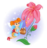 Flower Fairy Royalty Free Stock Photo