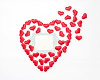 Valentine`s Day. day of all in love Royalty Free Stock Images