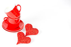 Valentine's Day Decoration Royalty Free Stock Photos