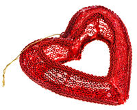 Valentine's day decoration heart Royalty Free Stock Images