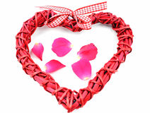 Valentine s day decoration heart Royalty Free Stock Photography