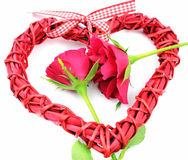 Valentine s day decoration heart Stock Images