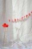 Valentine's Day decorations Stock Photos