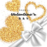 Valentine`s day design. stock illustration