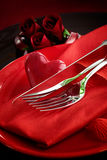 Valentine S Day Dinner Stock Photography